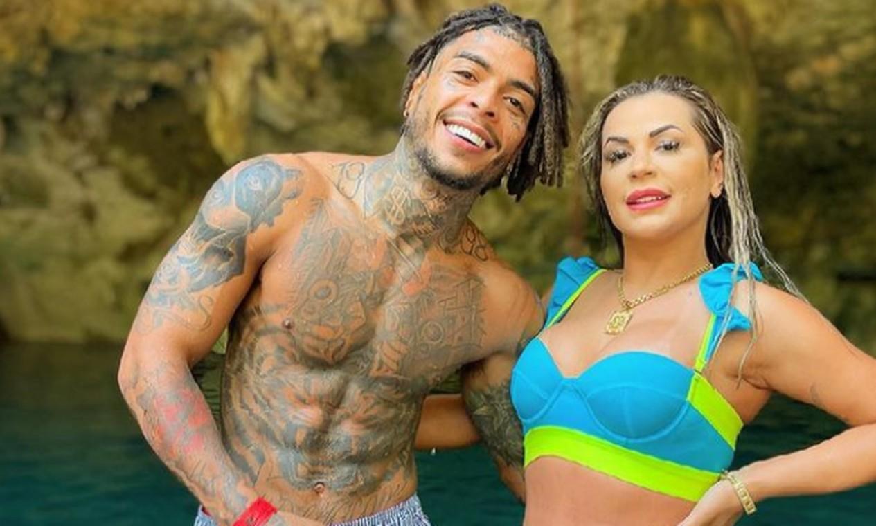 MC Kevin e a mulher, Deolane Foto: Reprodução / Instagram