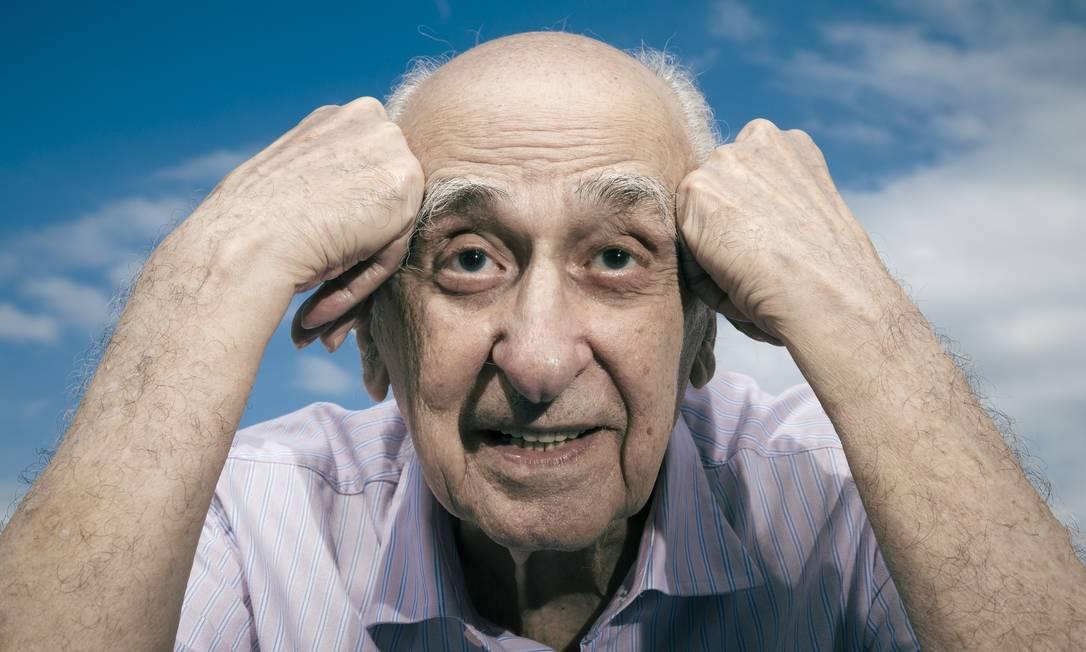 Zuenir Ventura completa 90 anos dia 1 junho Foto: Leo Martins / Agência O Globo