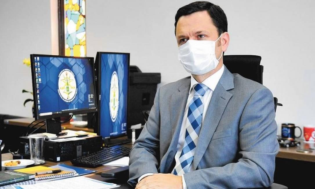 Ministro da Justiça Anderson Torres Foto: Paulo H Carvalho / Agência Brasília
