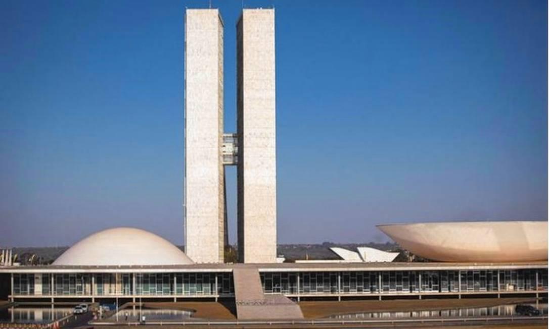 Congresso Nacional, em Brasília Foto: Daniel Marenco