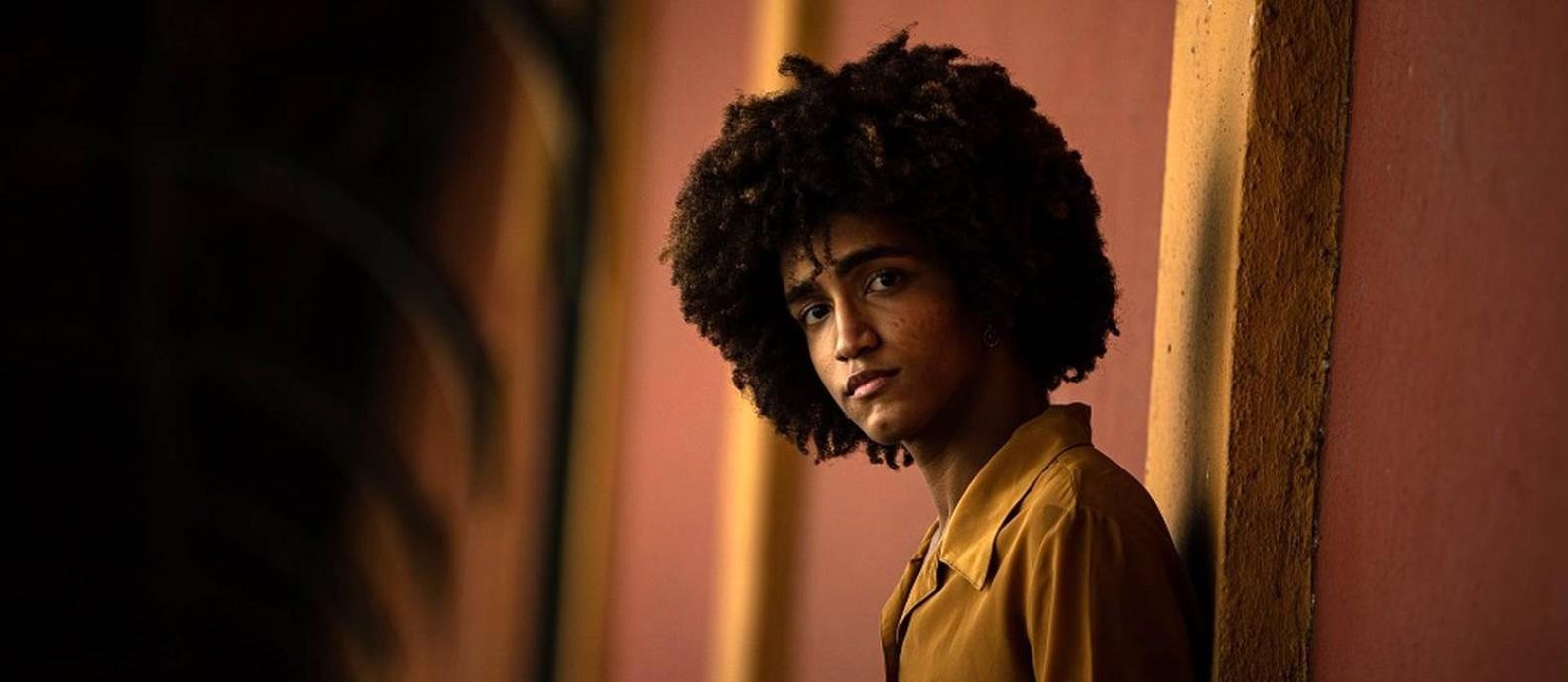 João Pedro Manhães, de 19 anos, é ex-aluno do São Bento Foto: Hermes de Paula / Agência O Globo