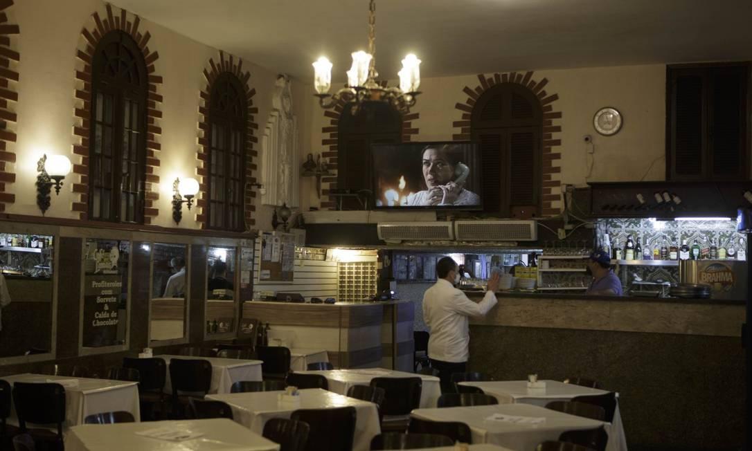 Café Lamas, no Flamengo: em atividade desde 1874 Foto: Alexandre Cassiano / Agência O Globo