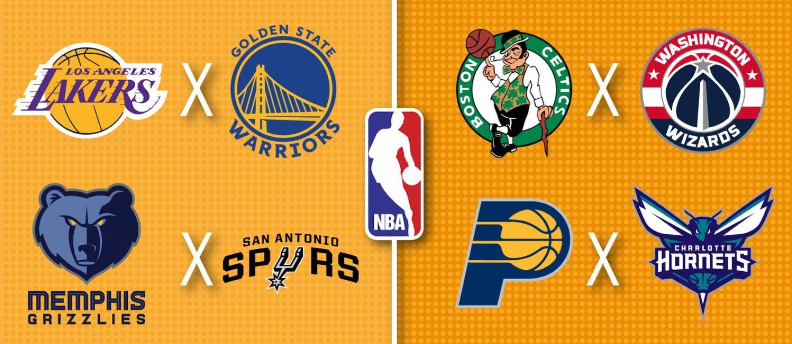 Play-in da NBA começa nesta terça-feira Foto: Editoria de Arte