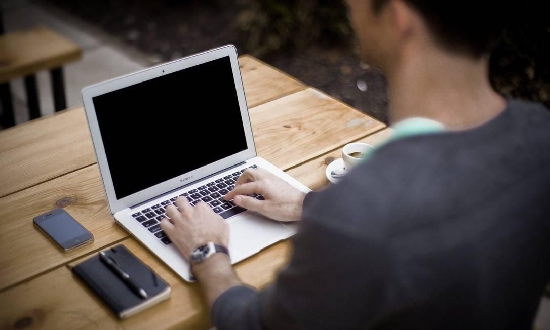 Home office levou a aumento de ataques de criminosos digitais Foto: Pixabay