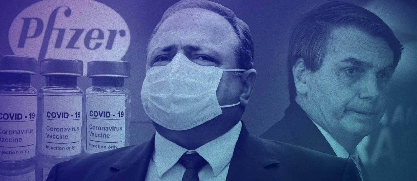 Gestão de Eduardo Pazuello no Ministério da saúde está no centro das investigações da CPI da Covid Foto: Editoria de Arte
