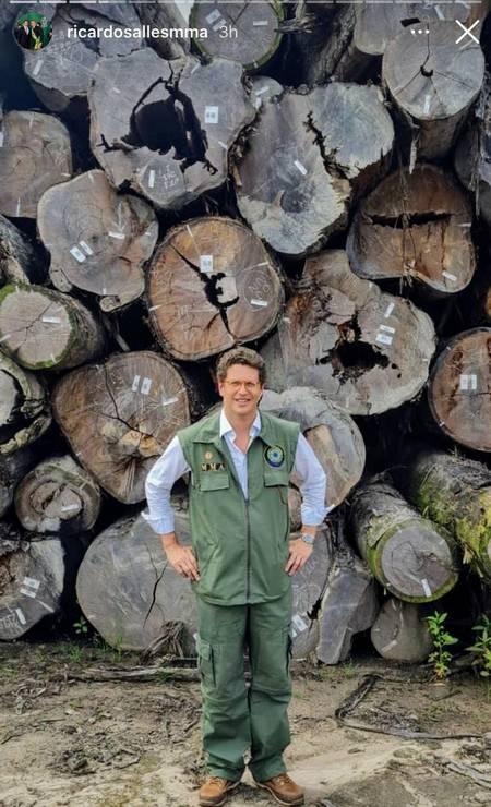Juíza federal no Amazonas manda PF devolver madeira apreendida por delegado que denunciou Salles. Decisão sobre operação Handroanthus, pivô de uma notícia-crime enviada por Alexandre Saraiva contra Ricardo Salles ao STF