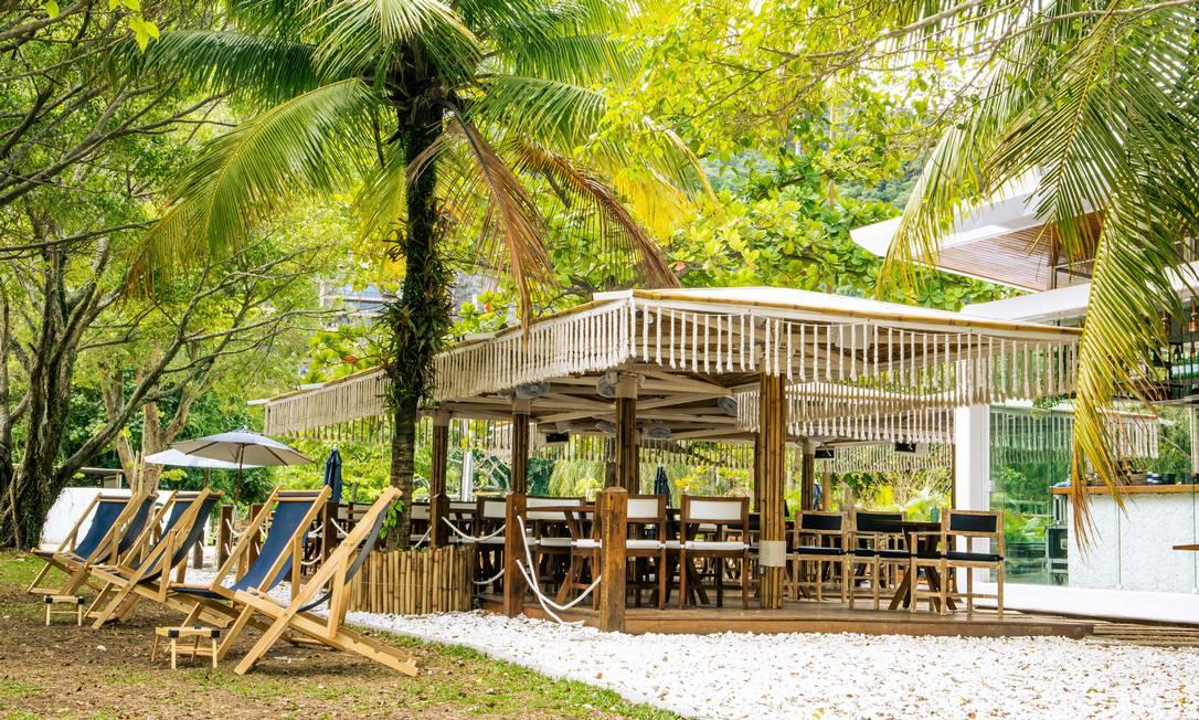 Terrazza Garden ocupa ponto onde era o quiosque Palaphita Kitch, ma Lagoa Foto: Lipe Borges / Divulgação