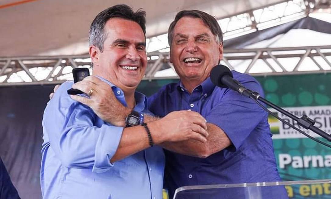 Jair Bolsonaro e Ciro Nogueira Foto: Divulgação