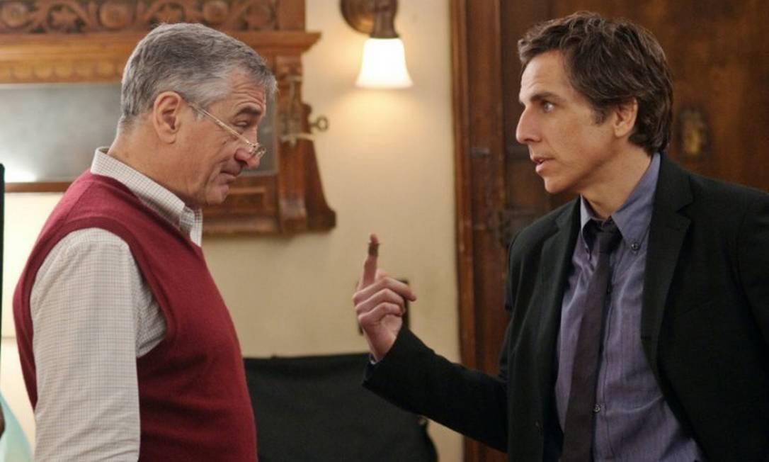 Robert De Niro e Ben Stiller em