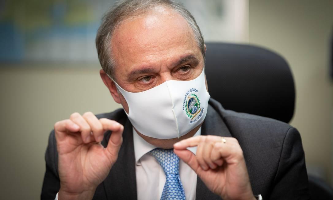 Nelson Rocha, novo Secretário Estadual de Fazenda Foto: Roberto Moreyra / Agência O Globo