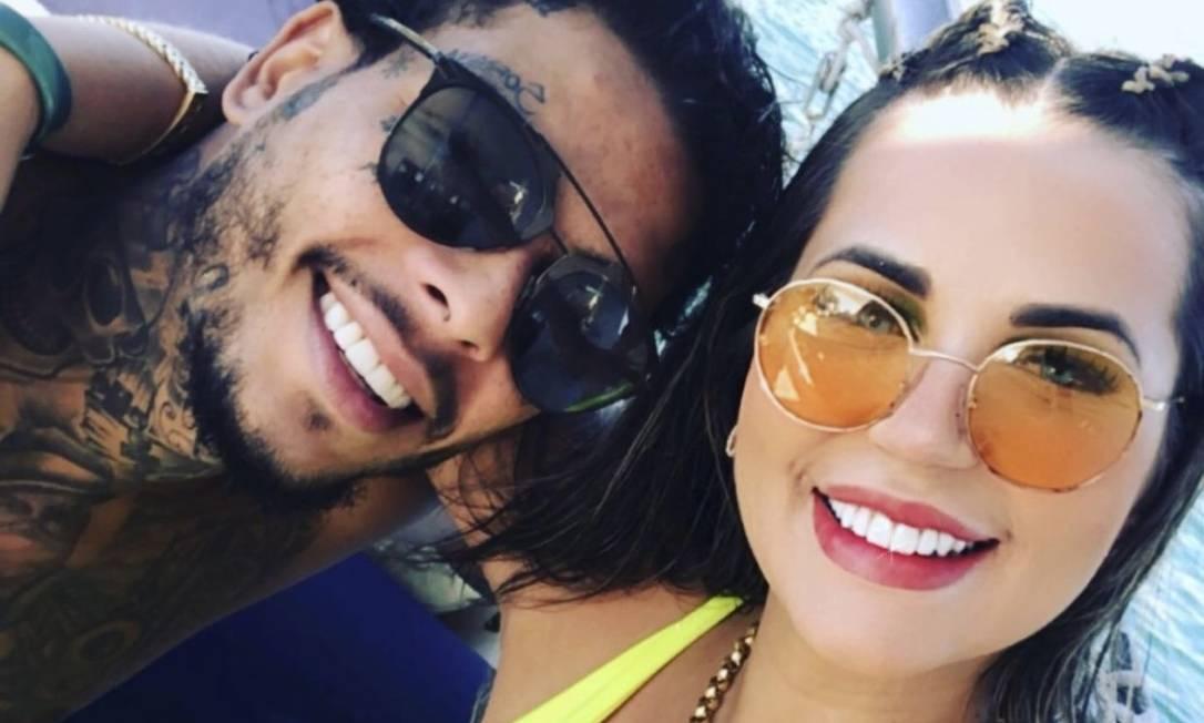 MC Kevin e Deolane Foto: Instagram / Reprodução