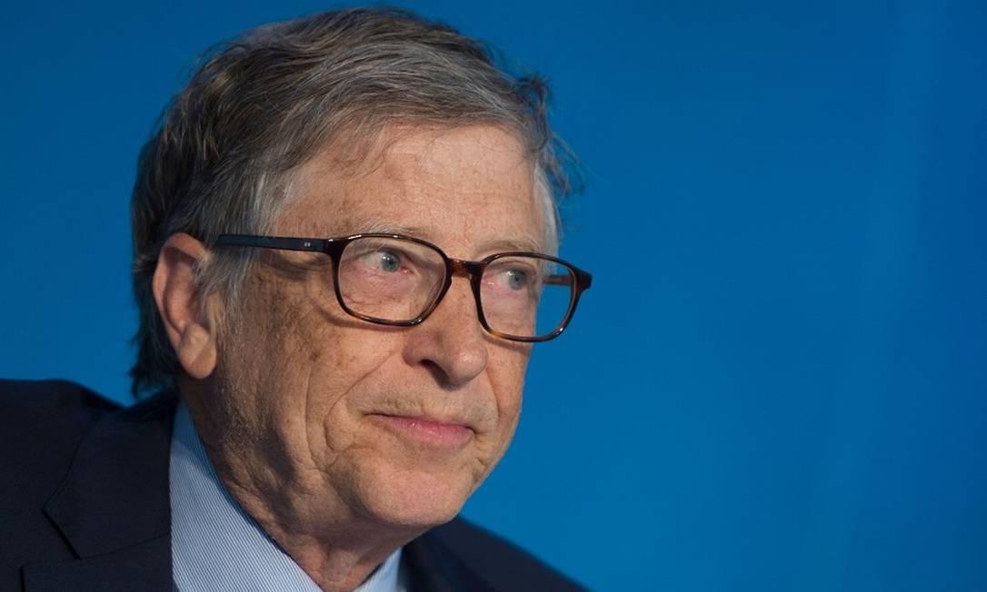 Bill Gates: reputação abalada com separação Foto: ANDREW CABALLERO-REYNOLDS / AFP