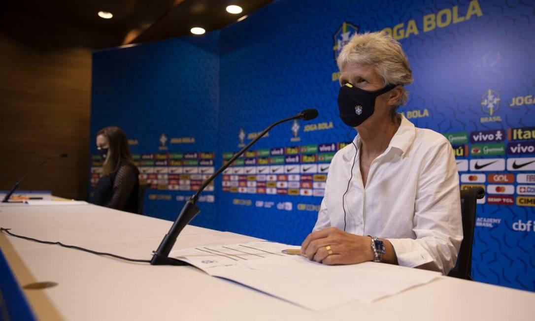 Pia Sundhage convoca seleção brasileira para amistosos Foto: Lucas Figueiredo/CBF
