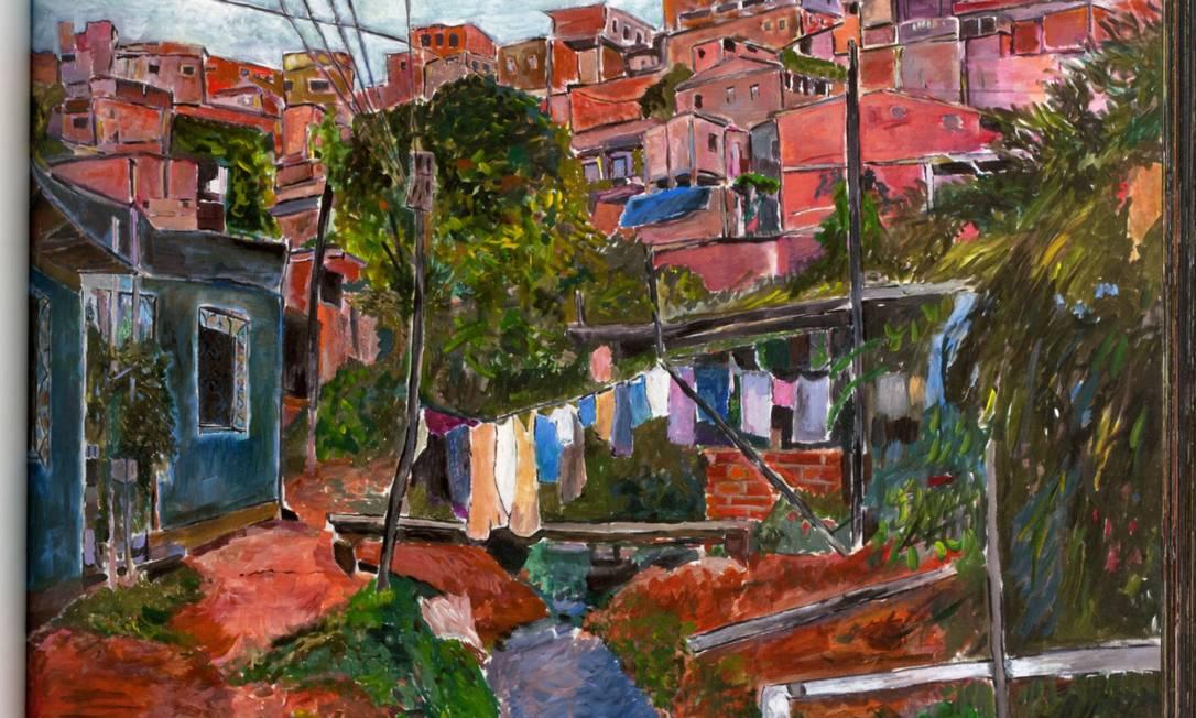 """Pintura Bob Dylan incluída no livro """"The Brazil Series"""" Foto: Reprodução"""