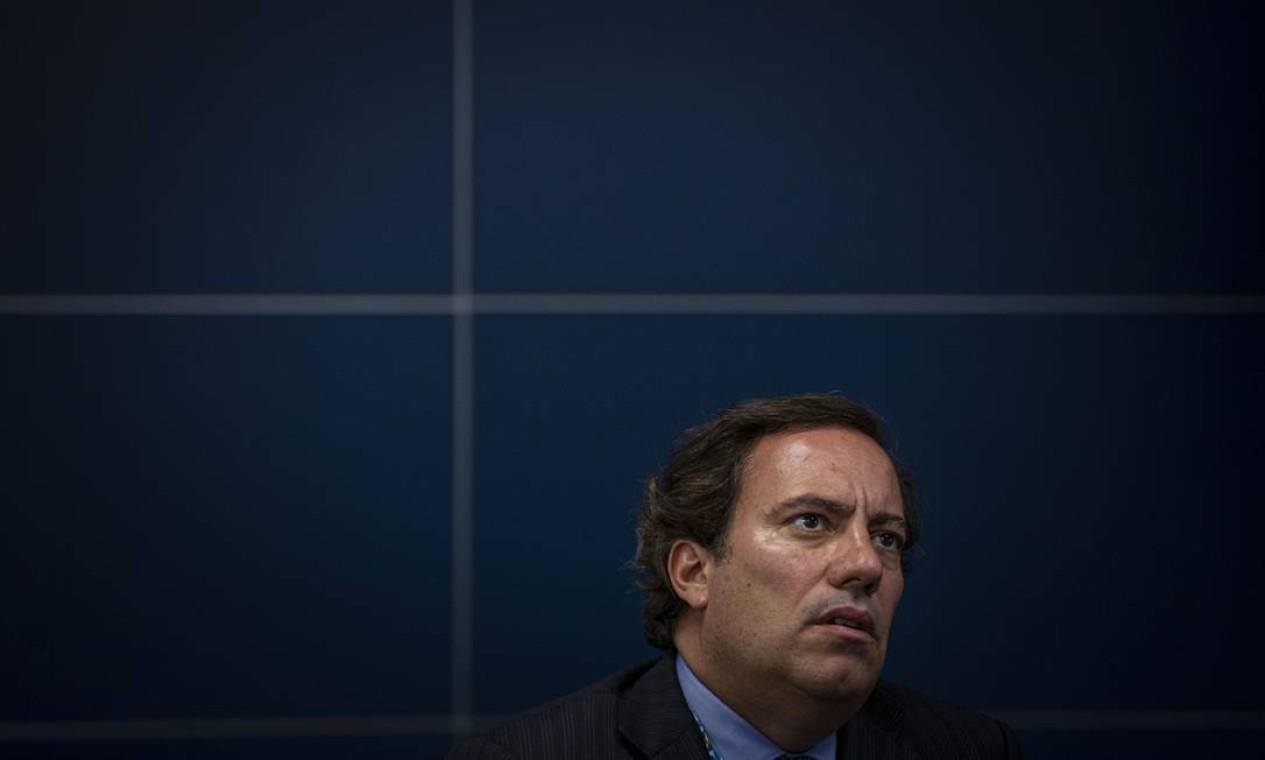 Os resultados de Guimarães na Caixa são bem avaliados. O banco bateu recorde de lucro em 2019 e 2020. A venda de ativos já soma R$ 100 bilhões. Foto: Daniel Marenco / Agência O Globo