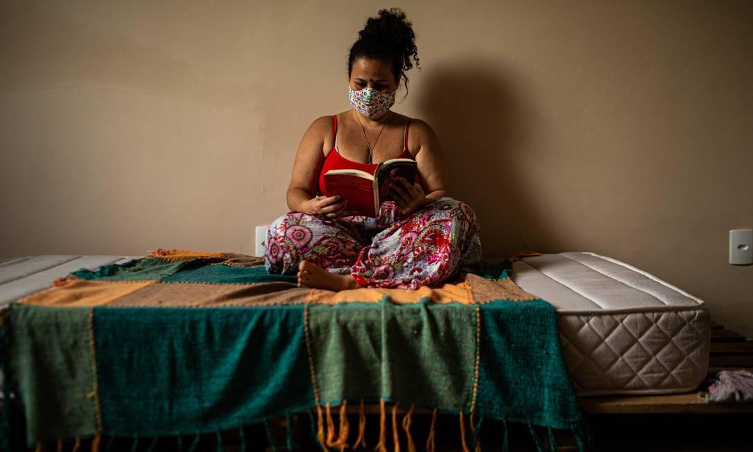 Anastácia Almeida é mestranda em agricultura orgânica na UFRRJ Foto: Hermes de Paula / Agência O Globo
