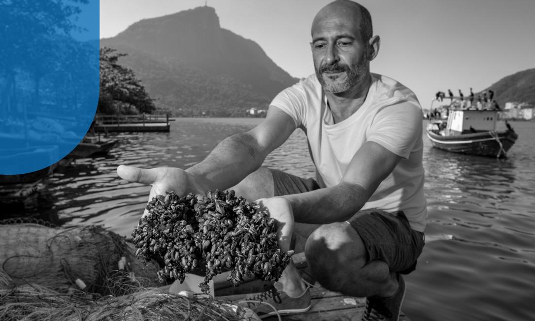 O oceanógrafo Luciano dos Santos Foto: Ana Branco / Agência O Globo