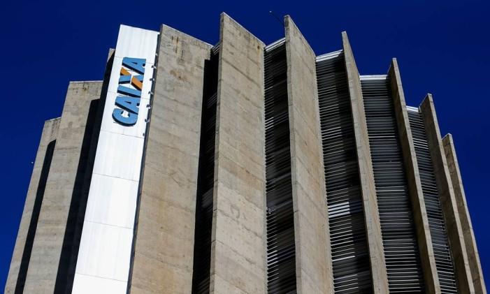 Edificio sede da Caixa Econômica Federal Foto: Marcelo Camargo / Agência Brasil