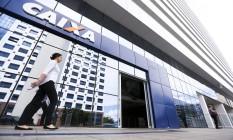 Caixa Econômica Federal, em Brasília Foto: Marcelo Camargo / Agência O Globo