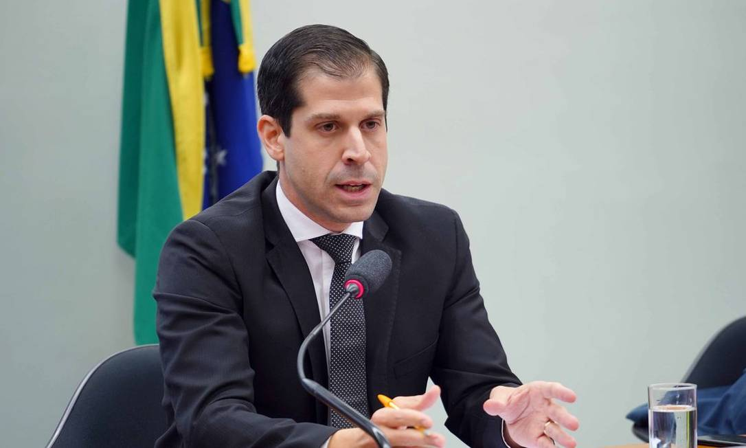 Secretário de Desestatização do Ministério da Economia, Diogo MacCord Foto: Pablo Valadares/ Câmara dos Deputados