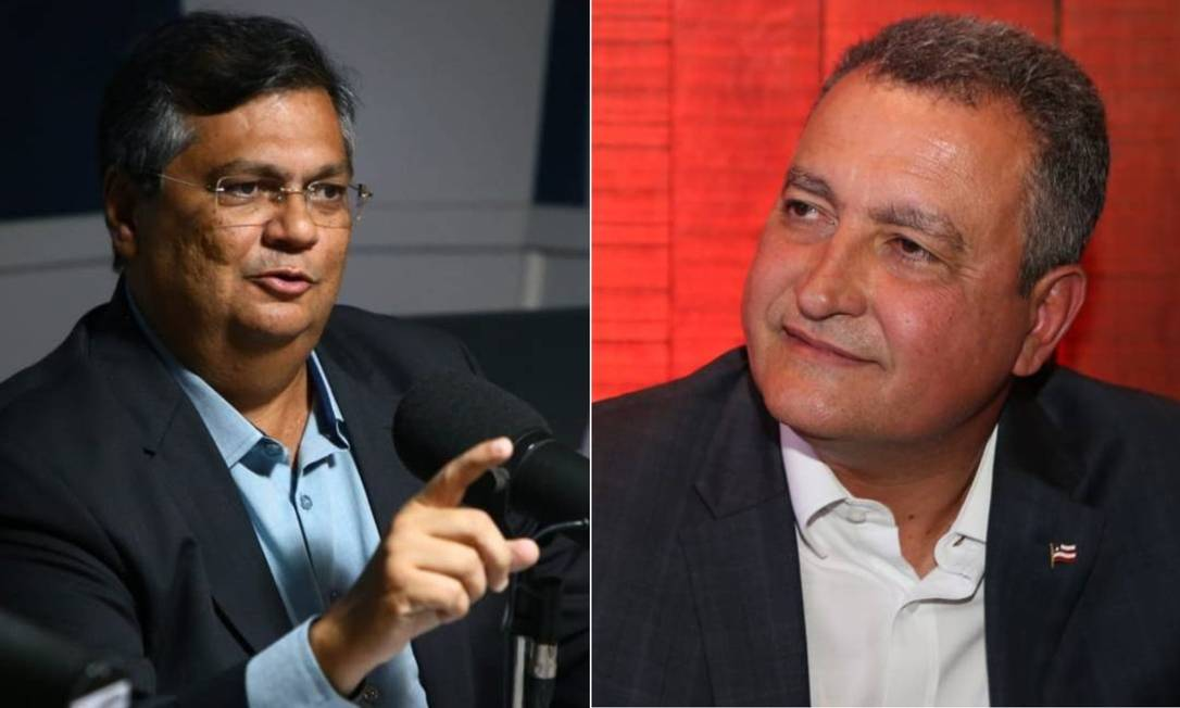 Flávio Dino, governador do Maranhão, e Rui Costa, governador da Bahia Foto: Divulgação