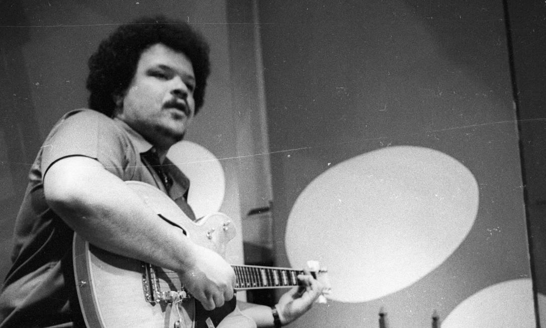 Tim Maia: gravação inédita de 1970 Foto: Foto Jorge Peter / Arquivo