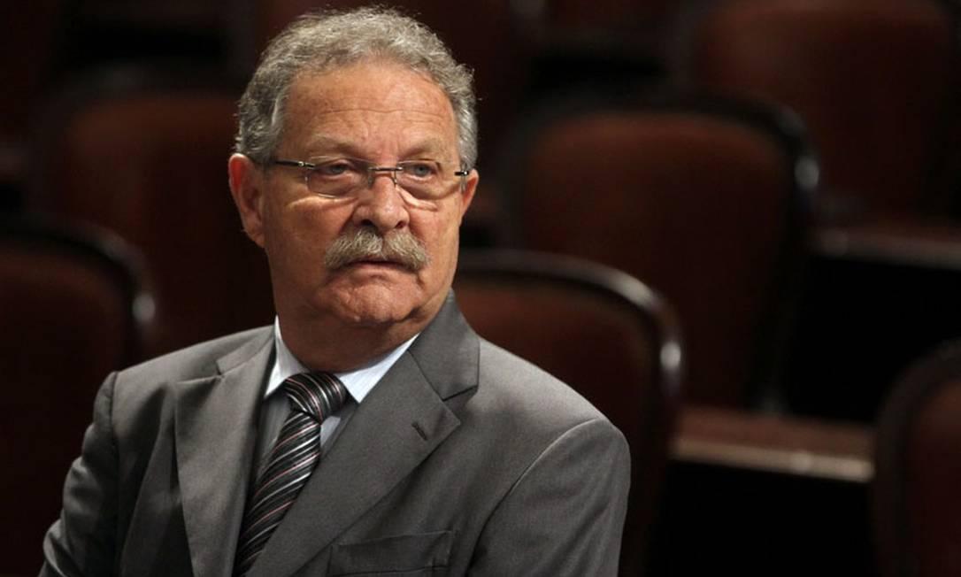 Na foto, coronel Jairo, pai de Dr. Jairinho, denunciado por crime duplamente qualificado contra Henry Borel, de 4 anos Foto: Alerj / Reprodução