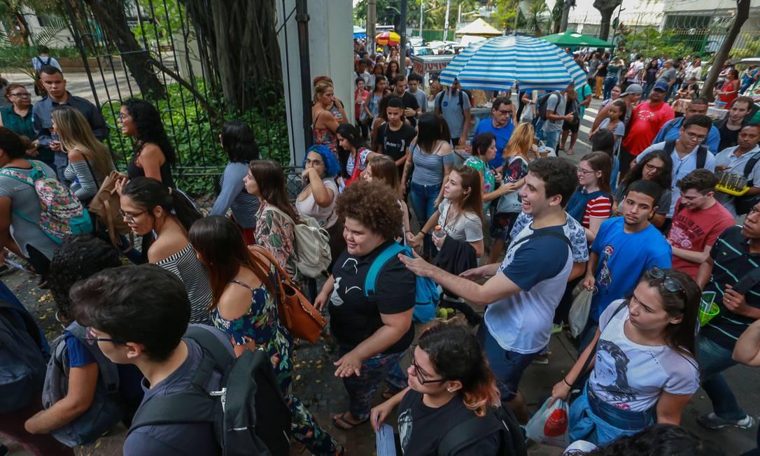 Prova do Enem em 2018 Foto: Marcelo Régua / Agência O Globo