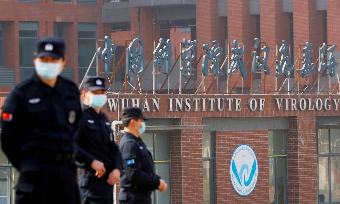 Instituto de Virologia de Wuhan, na China Foto: THOMAS PETER / REUTERS