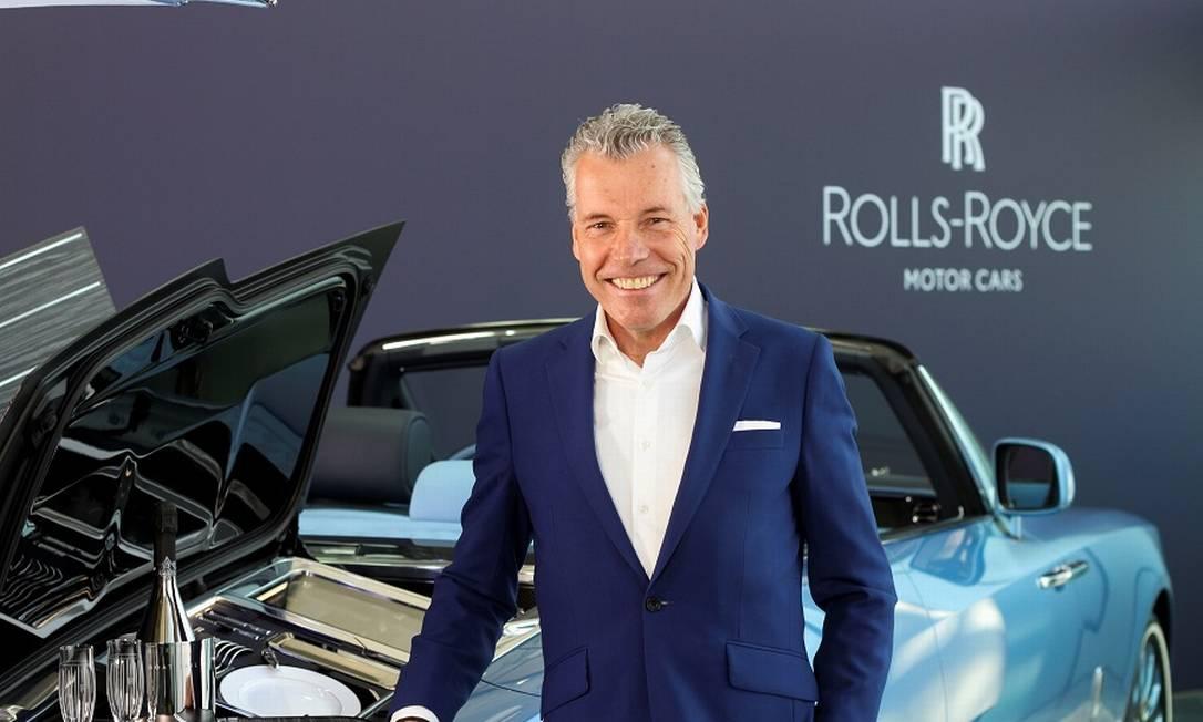 Torsten Muller-Otvos, CEO da Rolls-Royce: pedidos de produção já todos tomados, diz ele Foto: STUART MCDILL / REUTERS