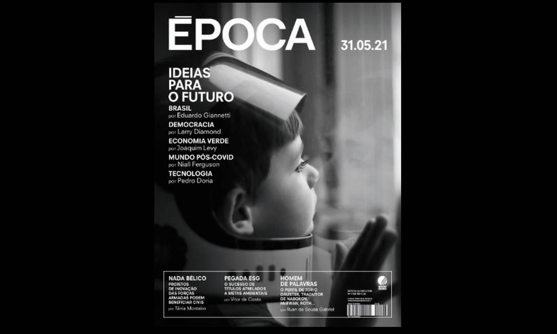 Especial com artigos preparados por ÉPOCA já está disponível em O GLOBO Foto: Reprodução