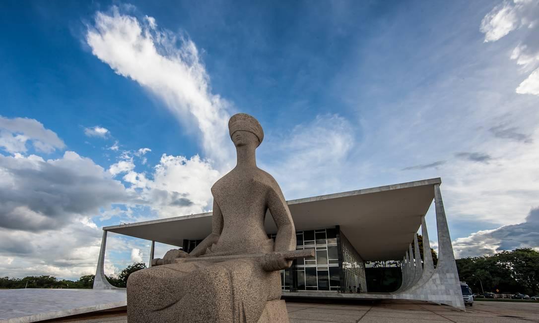 Fachada do Supremo Tribunal Federal Foto: Dorivan Marinho/SCO/STF