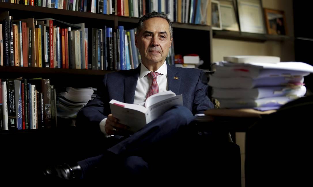 O presidente do TSE, Luis Roberto Barroso Foto: Cristiano Mariz / Agência O Globo
