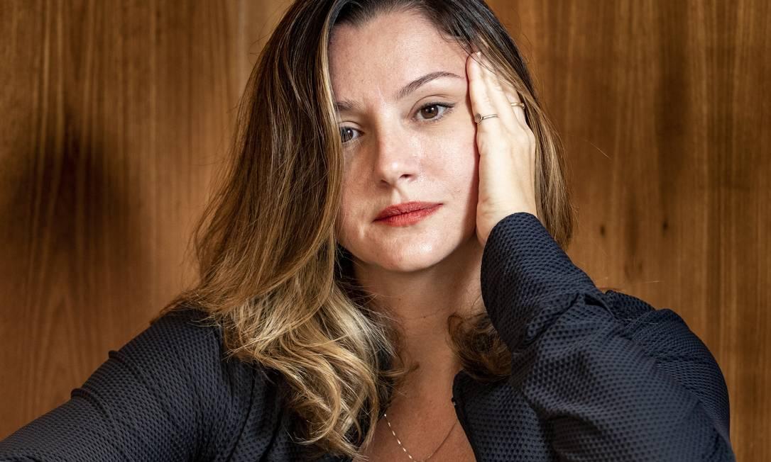 Julia Spadaccini: dificuldades da pandemia a levaram a abordar a questão em texto Foto: Ana Branco / Agência O Globo