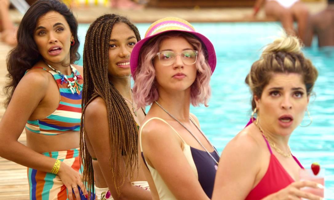 """""""Carnaval"""" (4-6), Netflix: A influencer GKay faz sua estreia como atriz nesta comédia Foto: Divulgação"""