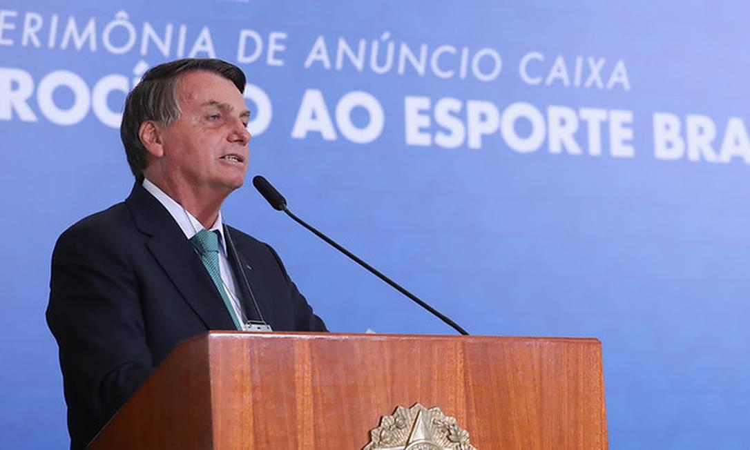 O presidente Jair Bolsonaro 01/06/2021 Foto: Marcos Correa / Divulgação