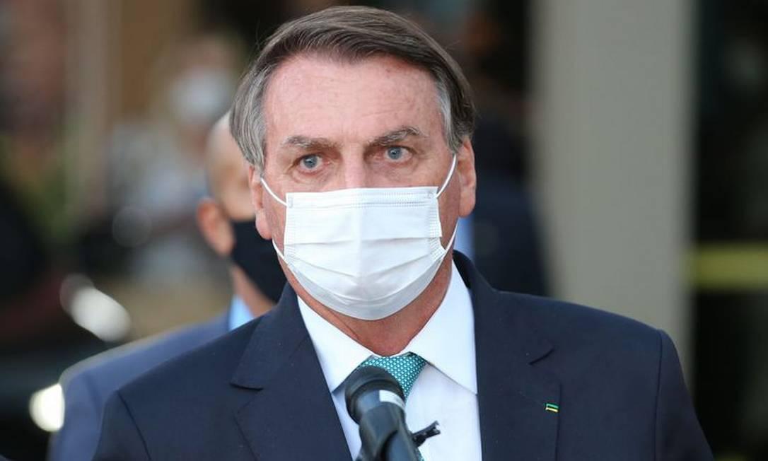 O presidente Jair Bolsonaro 01/06/2021 Foto: Agência Brasil
