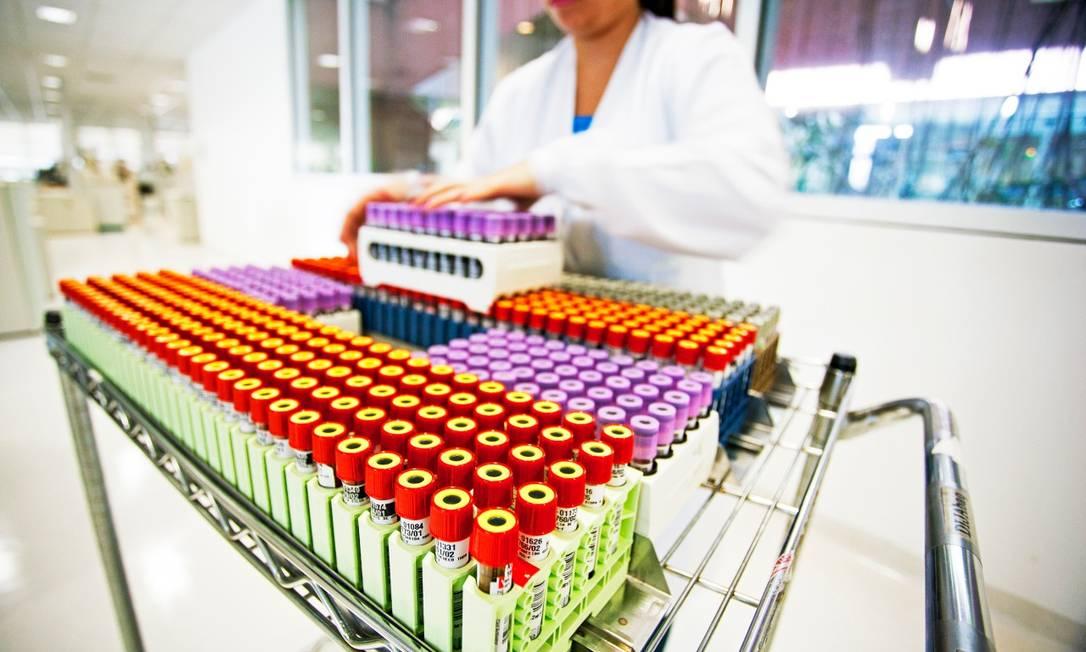 Área técnica do laboratório Fleury em São Paulo: grupo soma 283 unidades de atendimento em 9 estados e DF Foto: Divulgação