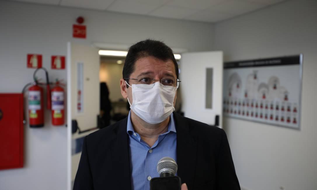 Secretário de Saúde do Amazonas, Marcellus Campêlo Foto: Divulgação