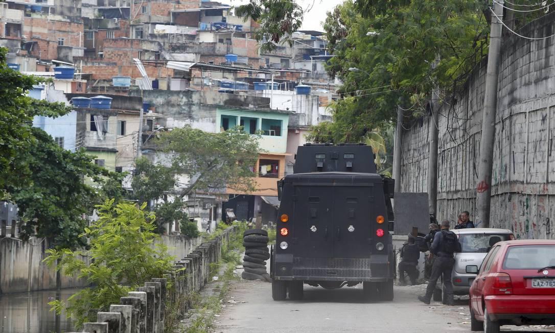 Força-tarefa do MP investiga operação Foto: Fabiano Rocha / Agência O Globo