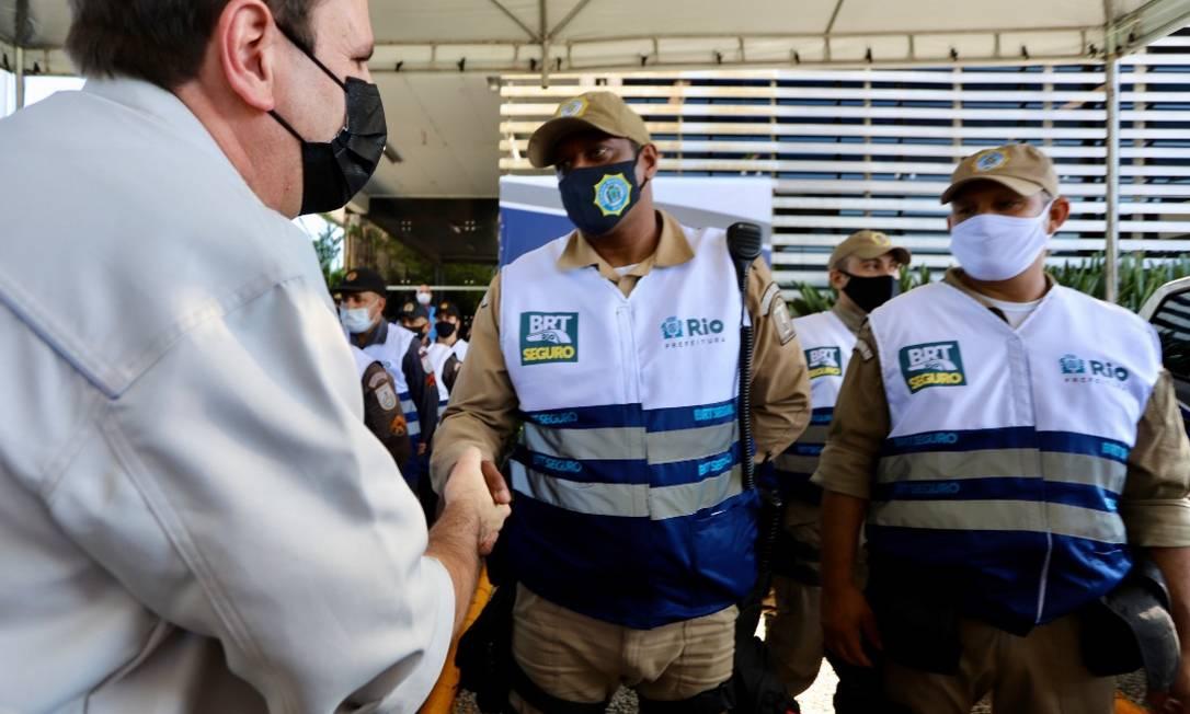 Prefeito Eduardo Paes lançou projeto no Alvorada Foto: Divulgação