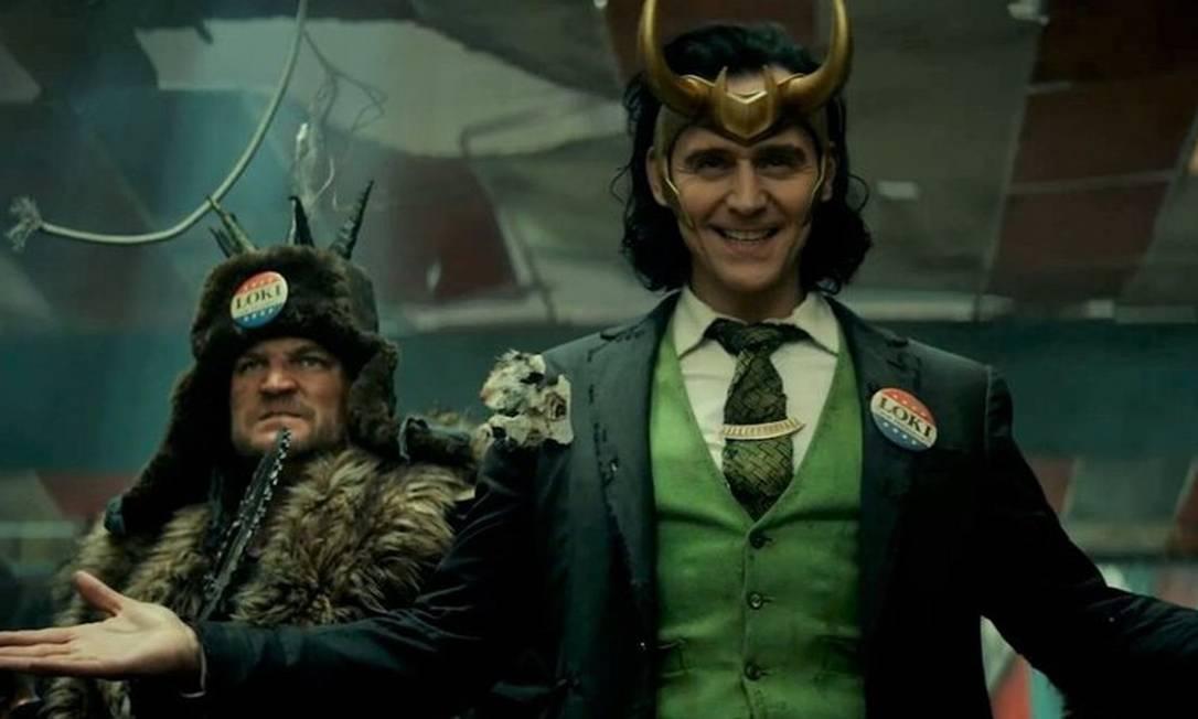 'Loki', com Tom Hiddleston, na Disney + Foto: Divugação