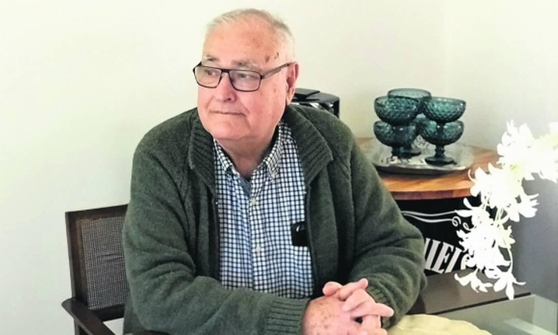 José Nino Gavazzo, militar reformado do Uruguai acusado preso por crimes contra a humanidade durante a ditadura uruguaia Foto: Paula Barquet / El País UY
