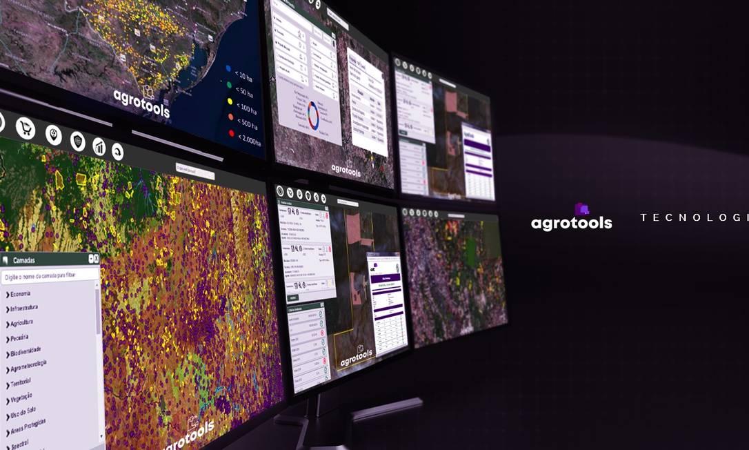 Maior empresa de monitoramento e rastreabilidade do agronegócio no país, a Agrotools está entre as empresas consideradas inovadora e com potencial de crescimento pela Revista Pequenas Empresas Grandes Negócios Foto: Divulgação / .