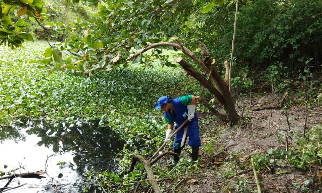 Trabalhadores do programa municipal Guardiões dos Rios são agentes comunitários capacitados para a função Foto: Divulgação