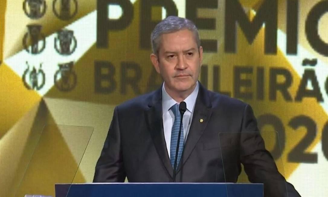 Rogério Caboclo, presidente da CBF, vive crise à frente da entidade Foto: Reprodução