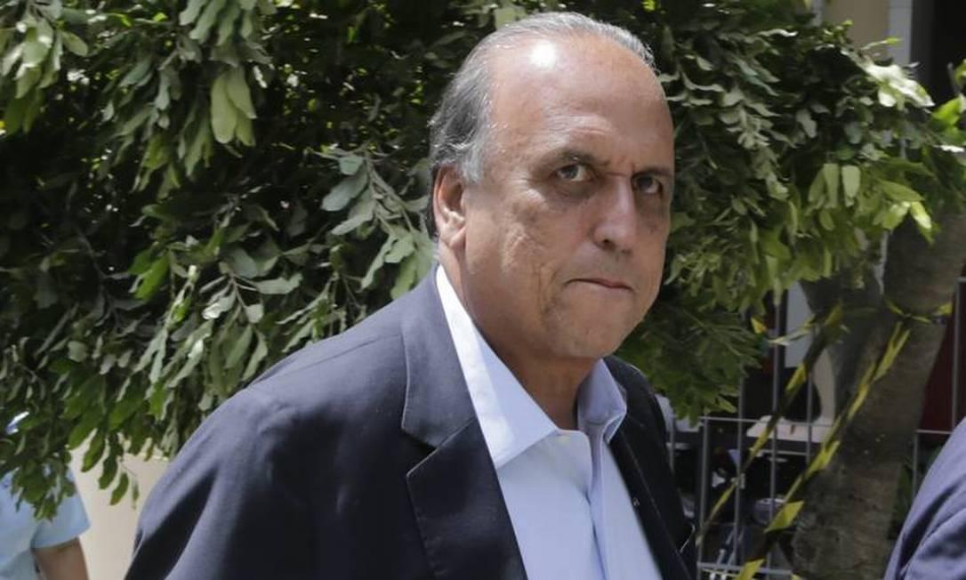 O ex-governador do Rio Luiz Fernando Pezão é condenado pela Lava Jato no Rio Foto: Antonio Scorza / Agência O Globo