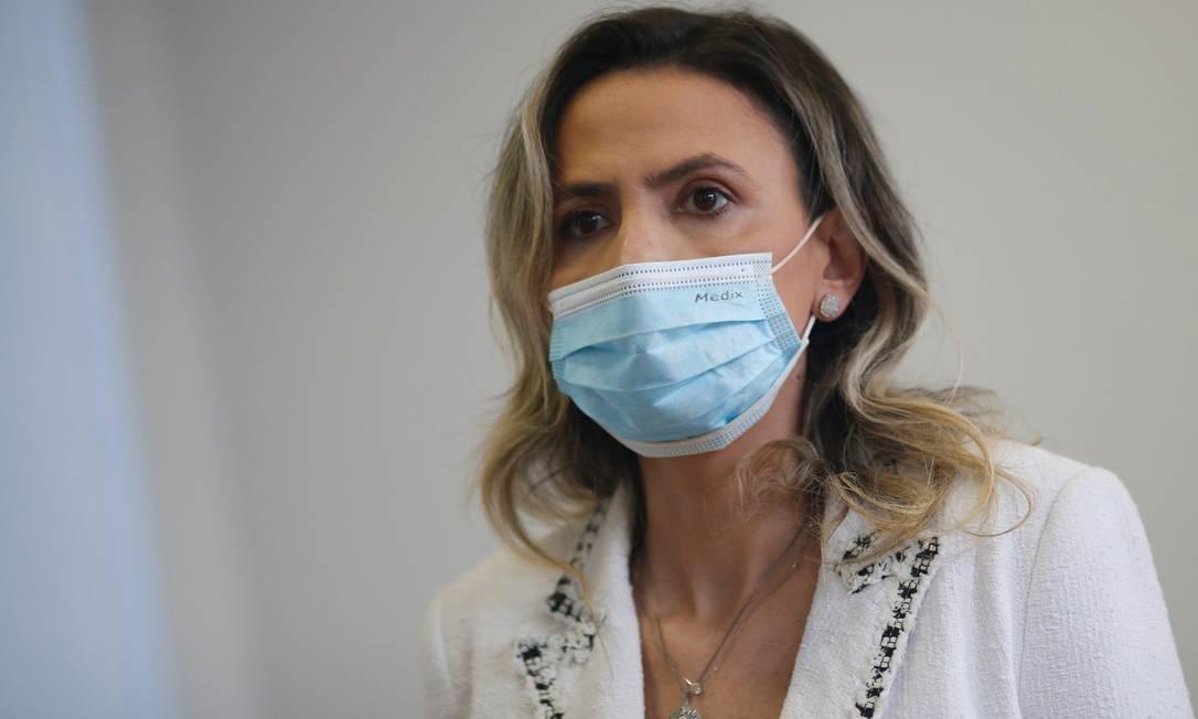Ludhmila Hajjar é professora da USP´e médica do Instituto do Coração Foto: Adriano Machado / Agência O Globo