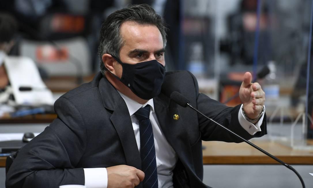 Ciro Nogueira (PP-PI): de aguerrido a contido nas sessões, líder do centrão mudou de postura na CPI da Covid Foto: Jeferson Rudy / Agência Senado