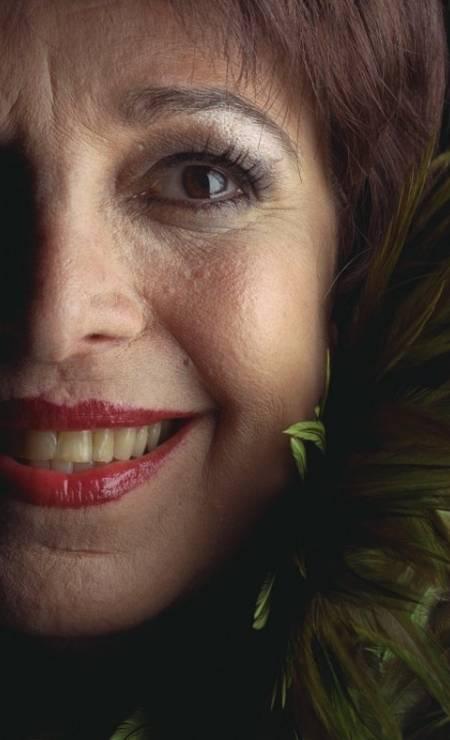 """Em agosto de 1998, na época da peça """"Eu e a louca"""" Foto: Marizilda Cruppe / Agência O Globo"""